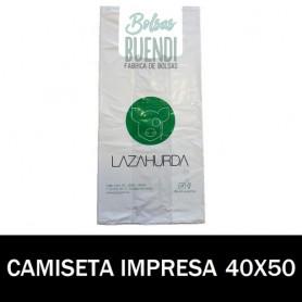 BOLSAS ASA CAMISETA IMPRESAS 40X50 G.70
