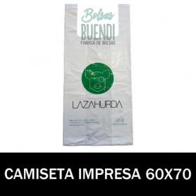 BOLSAS ASA CAMISETA IMPRESAS 60X70 G.100