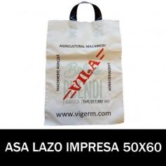 BOLSAS ASA DE LAZO IMPRESAS 50X60 G.200