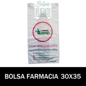 BOLSAS DE FARMACIA PERSONALIZADA SOBRE (15x20)