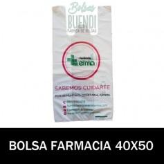 BOLSAS DE FARMACIA PERSONALIZADA SOBRE (40x50)