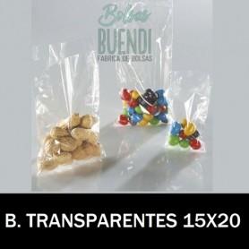 BOLSAS DE PLASTICO POLIETILENO TRANSPARENTES 15X20