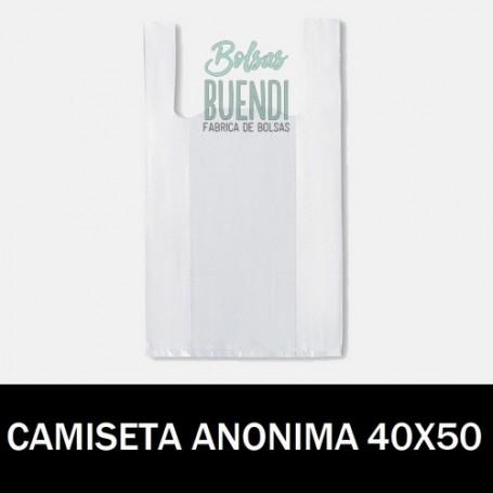 BOLSAS DE PLASTICO CAMISETA ANONIMAS 40X50 G.70