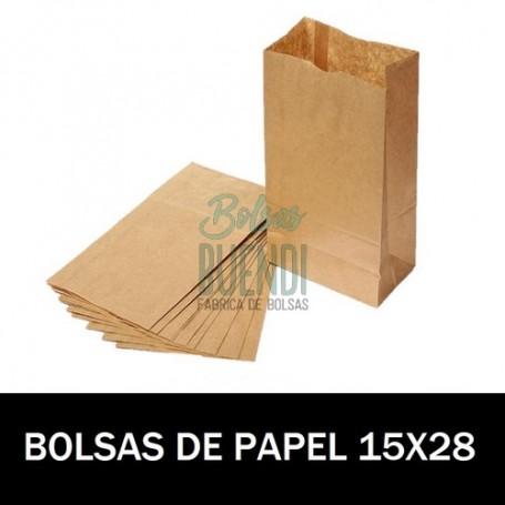 BOLSAS DE PAPEL 15X28