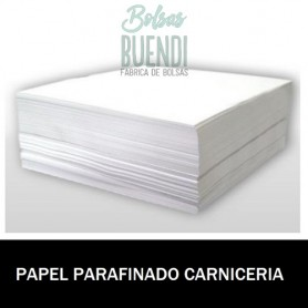 PAPEL PARAFINADO CARNICERIA ANONIMO