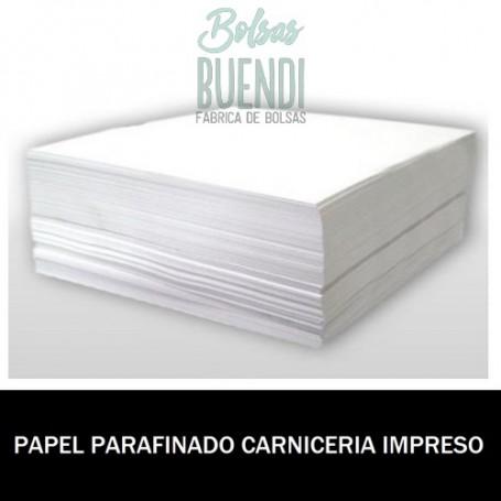 PAPEL PARAFINADO IMPRESO