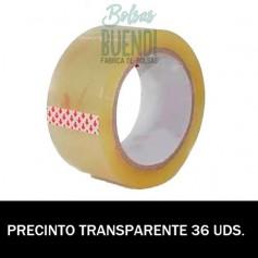 ROLLOS DE PRECINTO TRANSPARENTE