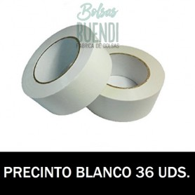 ROLLO DE PRECINTO BLANCO