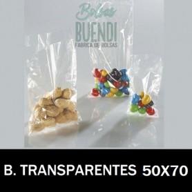 BOLSAS DE PLASTICO TRANSPARENTES 50X70