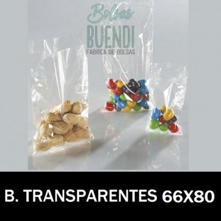 BOLSAS POLIETILENO TRANSPARENTES 66X80