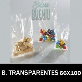 BOLSAS DE PLASTICO POLIETILENO TRANSPARENTES 66X100