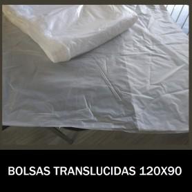 BOLSAS DE PLASTICO TRANSLUCIDAS 120X90 G.80