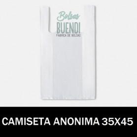 BOLSAS DE PLASTICO CAMISETA ANONIMAS 35X45 G.200