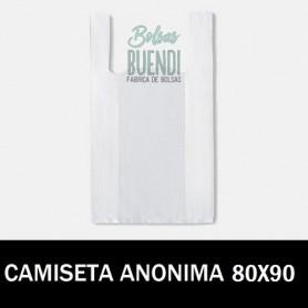 BOLSAS DE PLASTICO CAMISETA ANONIMAS 25X60 G.70