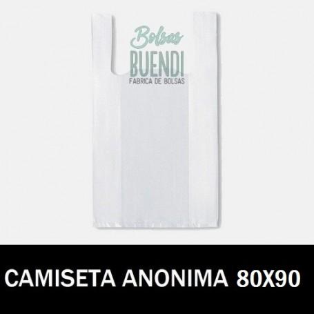 BOLSAS DE PLASTICO CAMISETA ANONIMAS 80X90 G.90